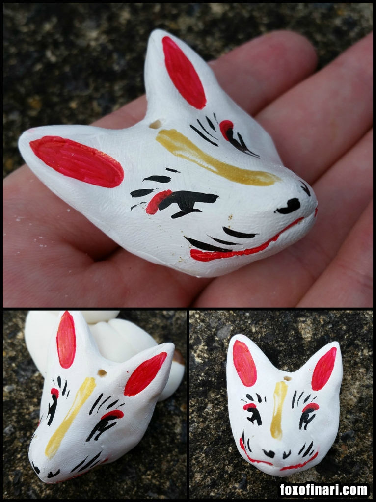 Kitsune inspired mask