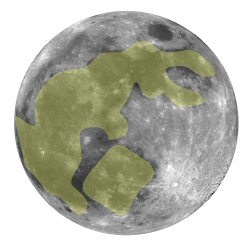 The rabbit in the moon (Image from Wikipedia)