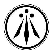 The Druid Awen symbol